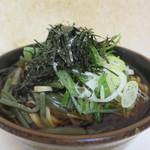新月 - 山菜そば(大盛)アップ