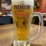 房家 日本橋店 - 生ビール(580円外税)