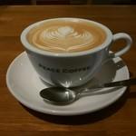 ピース コーヒーロースターズ - カフェラテ
