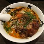 カラシビ味噌らー麺 鬼金棒 - カラシビ味噌らー麺 肉増し カラさ シビれ 増し増し