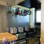 ナミニノカレー - 厨房