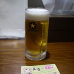 初代 けいすけ - 生ビール~☆