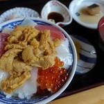 ぬいどう食堂 - 歌舞伎丼 1,000円
