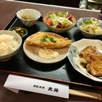 季節料理 大路 - おまかせ定食(夜)
