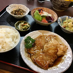 季節料理 大路 - 豚ロースしょうが焼定食