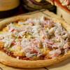 窯焼き風海鮮ピザ