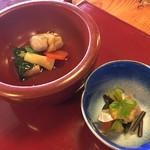 67495865 - 桜餅蒟蒻,春山盛り