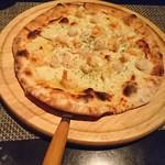 happy dining cLover - 海鮮のピッツァ