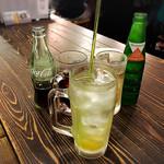 チャオチャオ餃子 - 柚子サワーで乾杯