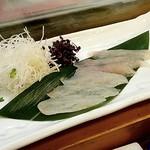 蓮池 丸万寿司 - カワハギ