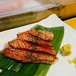 蓮池 丸万寿司 - 金目の炙り