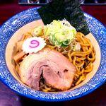67498291 - 元味黒丸油そば¥593+麺大盛¥93 2017.3.29