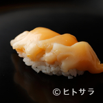 銀座 鮨青木 - 濃厚な味わいの青柳