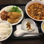 龍門 - 麻婆豆腐定食