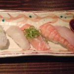 鮨や ねこなかせ - ねこなかせセットの寿司