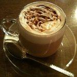 カフェ ルッカ - ホットキャラメルティー