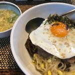 明洞房 - スープとお惣菜3品が付きます