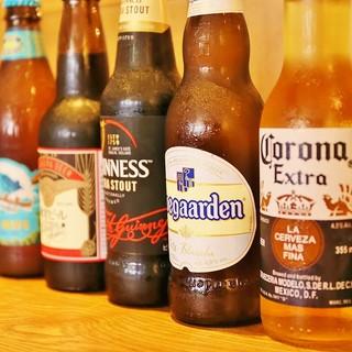 世界各国のクラフトビールをお愉しみいただけます!!