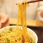 汁なし担担麺くにまつ - 汁なし担々麺は20回以上よく混ぜて食べましょう!