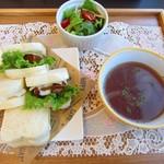 ぷらな - 料理写真:ワンコインランチ