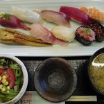 いづみや - 限定50食 にぎり寿司定食