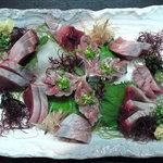 いづみや - 鰹と秋刀魚