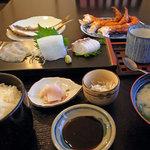 地魚料理 たかのや - 料理写真:1,800円の定食
