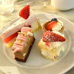 Satsukiraunji - 苺モンブラン、苺のショートケーキ