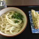 うどんの通 - 料理写真:うどん2玉(*゚∀゚*)240円