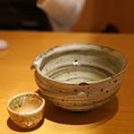 石臼挽き手打 蕎楽亭 - 飛露喜 特別純米 生原酒