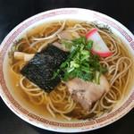 とり源 - 中華そば  500円