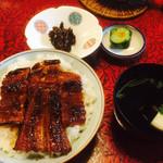 西本 - 料理写真:中詰めうな丼