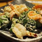 福篭。 - エビと野菜のマヨネース