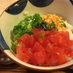 空庵 - ↑トマト茶漬け200円