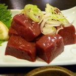 焼肉 菜好牛 - 【レバー刺し 580円】