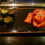 焼肉 菜好牛 - 【山芋のおキムチ】と【きゅうりキムチ】