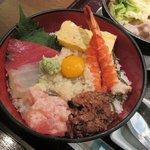 67522399 - ミニ海鮮丼(日替わり)2017.05.24
