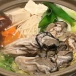 かきと旬鮮料理とおそば 開 - カキちり鍋