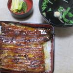 坂平 - 料理写真:特うな重、肝吸い
