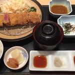 67526334 - 牛カツ定食 1990円