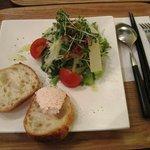 カフェノバ - ランチ サラダとバゲット
