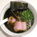 MEN-EIJI - ブラック海苔ラーメン_800円