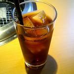 焼肉マルイシ - 「黒烏龍茶」