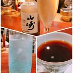 カフェ&バー ウミノ - 冷凍ハイボール  龍馬  ウィスキーコーヒー