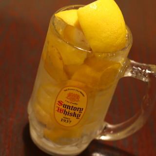 最強の氷結レモン!日本酒・焼酎が豊富!しかも安っっ!!