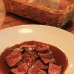 バンビーノ -  牛肉のタリアータ