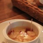 バンビーノ -  エビのオリーブオイル煮