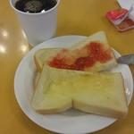 東横INN - トースト・ホットコーヒー