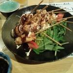 居酒屋 天うま - 魚肉ソーセージ串カツ