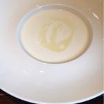 67535496 - サラダランチのセットのビシソワーズスープ